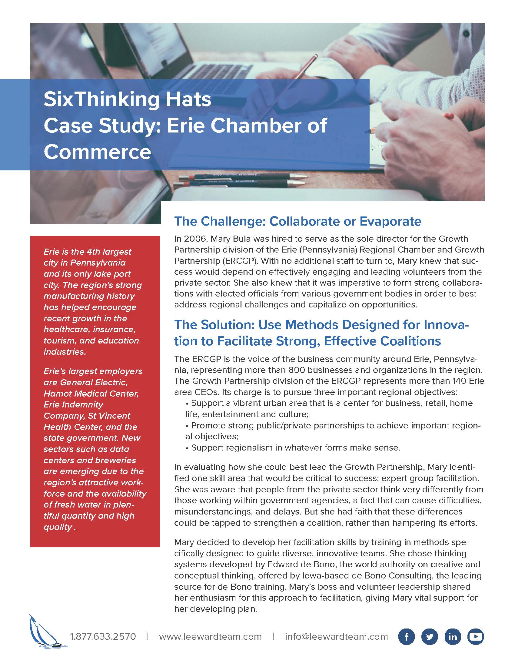Case Study - Erie Chamber of Commerce